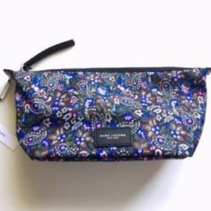Marc Jaobs Paisley Cosmetic Bag